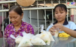 Hoàn cảnh em Trần Lê Hải Yến trường THPT Huỳnh Văn Sâm