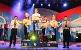 10X THPT Nguyễn Bỉnh Khiêm giành giải nhất tháng bằng điểm số vòng xuất phát