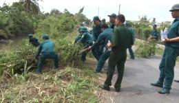Chuyên đề 23.3-Lực lượng vũ trang Chợ Gạo chung sức xây dựng nông thôn mới