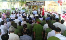 Lễ truy điệu đồng chí Thiếu tướng Nguyễn Chí Phi