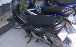 Cảnh sát hình sự bắt các đối tượng trộm xe mô tô
