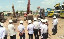 Tiền Giang khởi công trụ sở làm việc 8 sở ngành