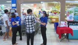 Coopmart Mỹ Tho thực hiện nhiều biện pháp phòng chống dịch Covid 19