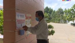 Chuyên đề 02.4 – Hội LHPN huyện Tân Phước với mô hình điểm rửa tay sát khuẩn tại mỗi đơn vị cơ quan