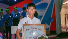 Nam sinh THPT chuyên Tiền Giang chiến thắng áp đảo tại cuộc thi tháng Đường đến vinh quang