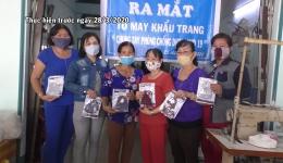 Chuyên đề 13.4 – Phụ nữ Cái Bè chung tay phòng chống dịch covid 19