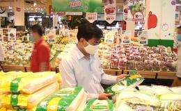 Sở Công Thương Tiền Giang kiểm tra công tác dự trữ hàng hóa mùa dịch Covid-19