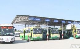 Tiền Giang tiếp tục nới lỏng hoạt động vận tải hành khách công cộng nội tỉnh và liên tỉnh