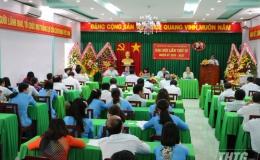 Đảng bộ Khối Cơ quan và Doanh nghiệp tỉnh Tiền Giang sơ kết rút kinh nghiệm đại hội điểm chi đảng bộ cơ sở