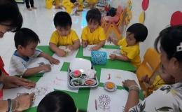Học sinh mầm non tỉnh Tiền Giang đi học trở lại từ ngày 18-5