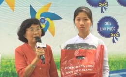 Hoàn cảnh em Lê Thị Như Ý, lớp 12A4 Trường THPT Tân Phước
