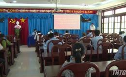 Đại biểu Quốc hội tỉnh Tiền Giang tiếp xúc cử tri huyện Tân Phú Đông