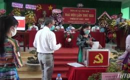 Châu Thành chọn Đảng bộ xã Vĩnh Kim tổ chức đại hội điểm