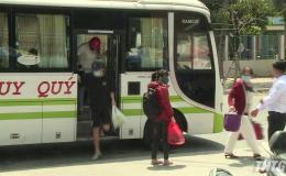Tiền Giang dỡ bỏ giãn cách trong vận tải hành khách