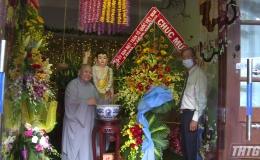 Mặt trận Tổ Quốc Tiền Giang thăm và chúc mừng Đại lễ Phật Đản