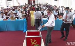 Đảng bộ thị trấn Tân Hòa, huyện Gò Công Đông tổ chức Đại hội điểm cấp cơ sở