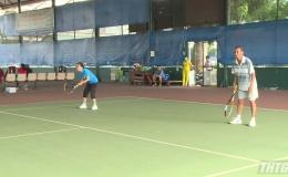 Khai mạc giải quần vợt viên chức lao động tỉnh Tiền Giang