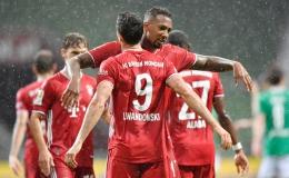 Thắng nghẹt thở Bremen, Bayern Munich lần thứ 8 vô địch Bundesliga