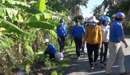 Chuyên đề 16.6 – Huyện đoàn Gò Công Tây ra quân vệ sinh môi trường