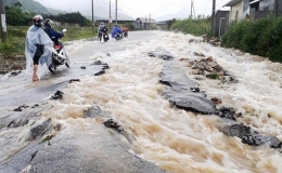 2 miền Nam – Bắc sắp mưa rất lớn