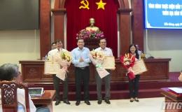 Khối lượng xây dựng cơ bản đầu tư công của tỉnh Tiền Giang đạt hơn 50%