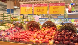 """Ống kính truyền hình """"Thị trường trái cây ngoại"""""""