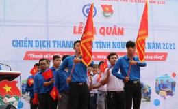 """Tiền Giang ra quân """"Chiến dịch Thanh niên tình nguyện hè"""" năm 2020"""