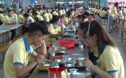 Nâng cao sản xuất lao động từ việc đảm bảo an toàn bếp ăn tập thể