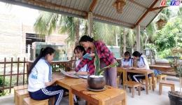 Hoàn ảnh em Huỳnh Thị Hồng Ngọc – Lớp 12A3, Trường THPT Tân Thới