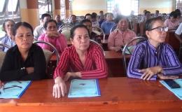 Chuyên đề 31.7 – Gò Công Đông tập huấn bình đảng giới trong gia đình