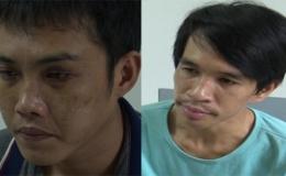 Công an huyện Châu Thành tạm giam 2 đối tượng cướp giật tài sản