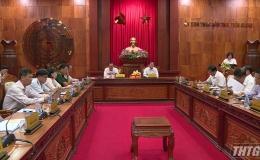 Chủ tịch UBND tỉnh yêu cầu các địa phương phải xác định khâu đột phá để phát triển