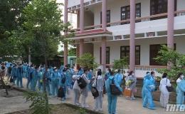 Tiền Giang tiếp nhận 240 công dân Việt Nam từ Singapore về cách ly y tế tại địa phương