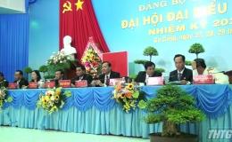 Khai mạc Đại hội Đảng bộ thị xã Gò Công lần thứ VIII, nhiệm kỳ 2020 – 2025