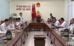 HĐND tỉnh Tiền Giang giám sát Đề án Tái cấu trúc ngành công nghiệp tại huyện Tân Phước