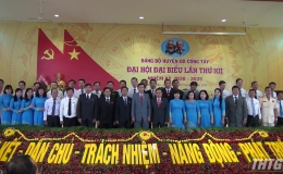 Ông Đinh Tấn Hoàng đắc cử chức danh Bí thư Huyện ủy Gò Công Tây, nhiệm kỳ 2020-2025