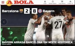 """Báo chí Tây Ban Nha và châu Âu chê cười """"nỗi ô nhục Barcelona"""""""