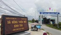 Chuyên đề 25.8 – Xã Bình Tân về đích nông thôn mới