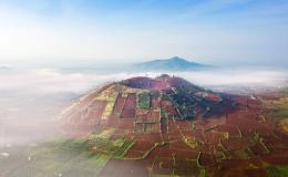 Núi lửa Gia Lai lọt top phong cảnh đẹp nhất thế giới