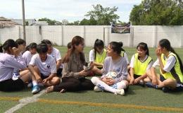 Hoàn cảnh em Lượng Thị Ngọc Trâm , lớp 12A2 trường THCS -THPT Phú Thạnh