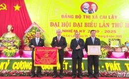 Khai mạc Đại hội Đại biểu Đảng bộ Thị xã Cai Lậy lần thứ II, nhiệm kỳ 2020-2025