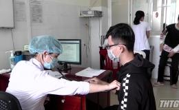 Chủ tịch UBND tỉnh kiểm tra công tác phòng, chống dịch bệnh Covid-19 tại huyện Gò Công Đông