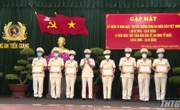 Tiền Giang họp mặt kỷ niệm 75 năm ngày truyền thống Công an Nhân dân