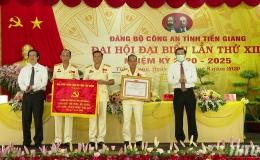 Khai mạc Đại hội đại biểu Đảng bộ Công an tỉnh Tiền Giang lần thứ XIII, nhiệm kỳ 2020-2025