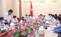 UBND tỉnh Tiền Giang bàn phương án quản lý và sử dụng hồ bơi trường học