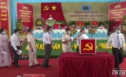 Ông Ngô Hữu Thệ tái đắc cử chức danh Bí thư Huyện ủy Chợ Gạo