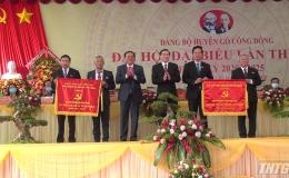 Khai mạc Đại hội đại biểu Đảng bộ huyện Gò Công Đông lần thứ XII, nhiệm kỳ 2020-2025