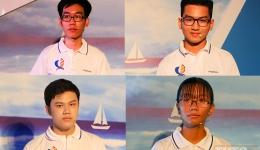 Gương mặt 4 thí sinh vào chung kết 'Đường đến vinh quang' năm học 2019-2020