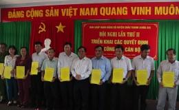 Chuyên đề 04.9 – Châu Thành có 59 Đảng viên được nhận Huy hiệu đảng