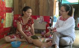 Hoàn cảnh chị Dương Thị Ri – Bệnh ung thư tử cung